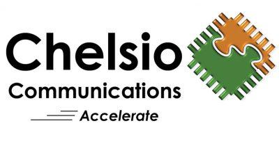Chelsio logo.