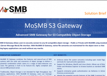 MoSMB-S3 Gateway Solution Brief Image